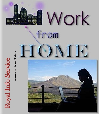 Work at Home Job Offering