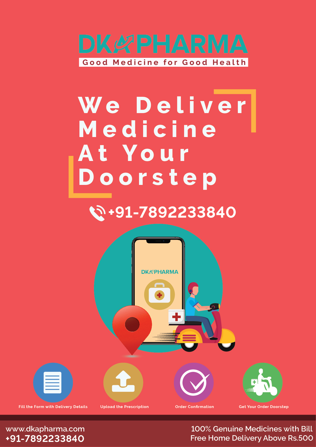 Online Medicine Home Delivery @DKA Pharma, White Field, Bangalore