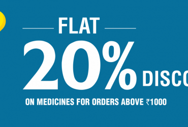Buy Online medicine and get flat 20% offer on medicines