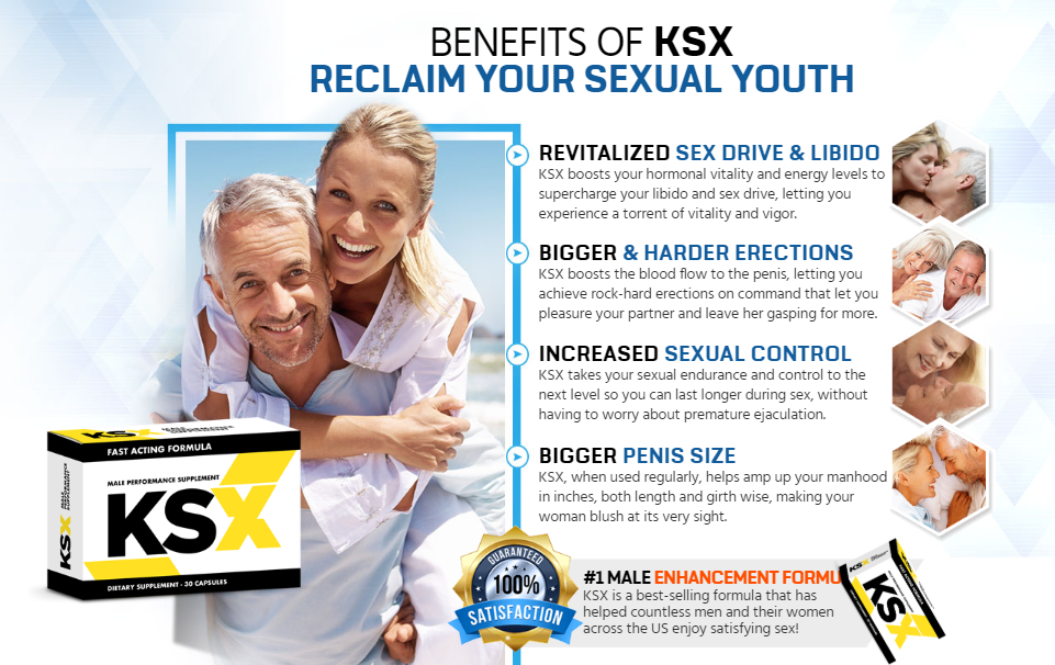KSX Male Enhancement – Enhance Your Bed Performance