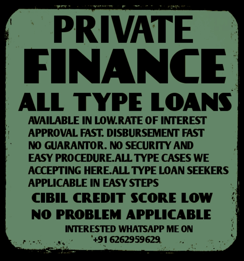 All Type Finance And Loans We Provided