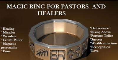 Pastor's Magic Ring to see visions +27735257866