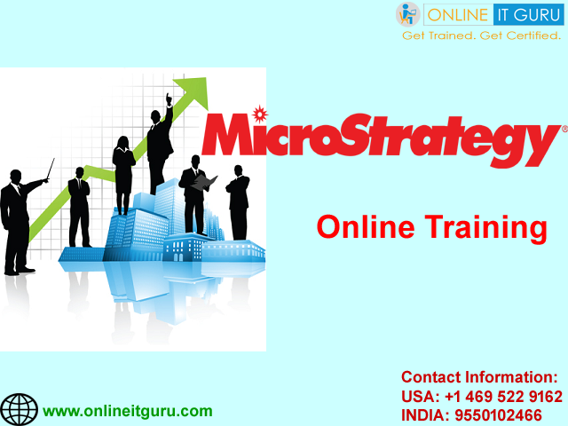 Microstrategy Online Training | Enroll Now for Free Demo