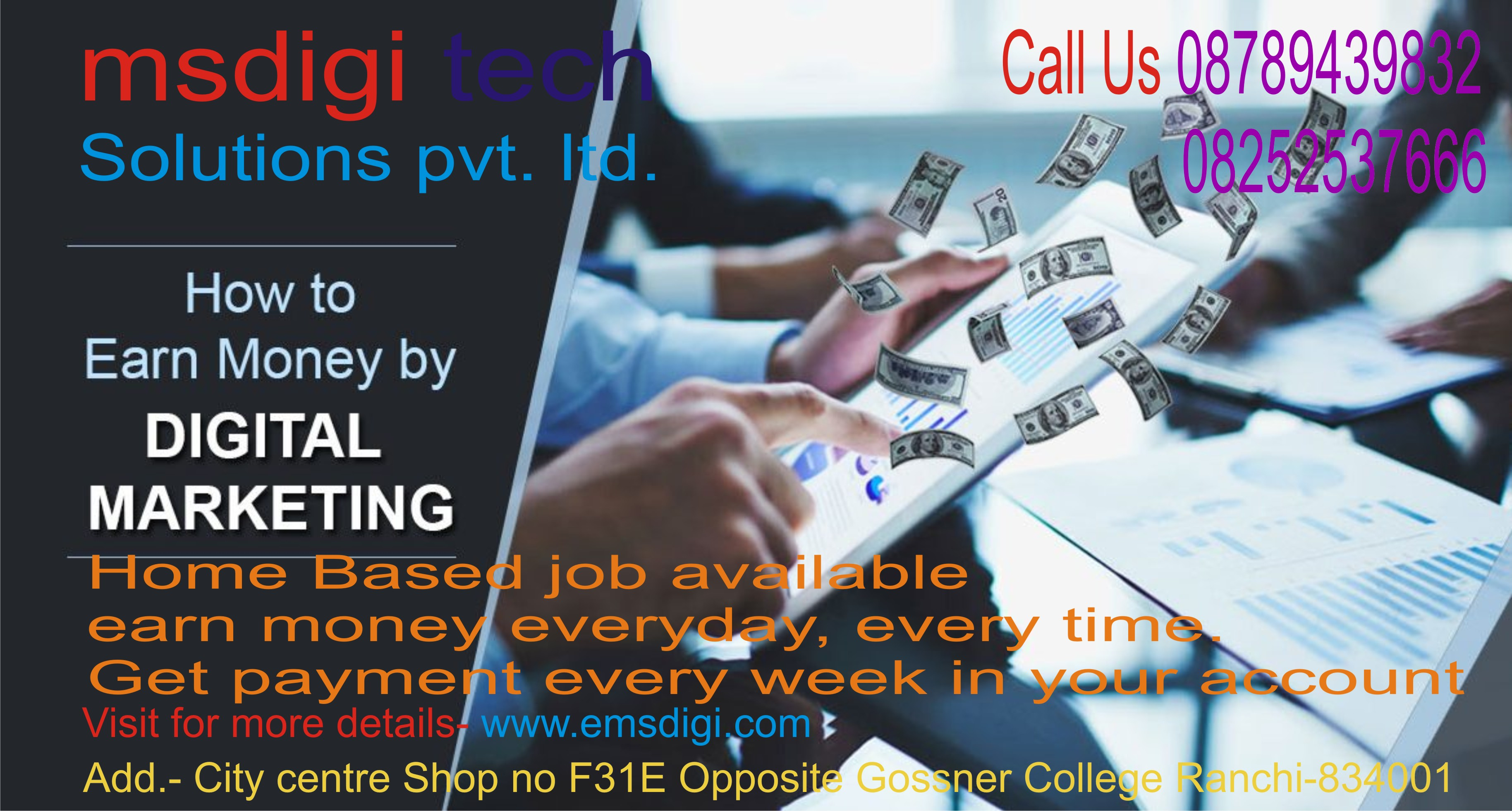 Home based internet jobs make more